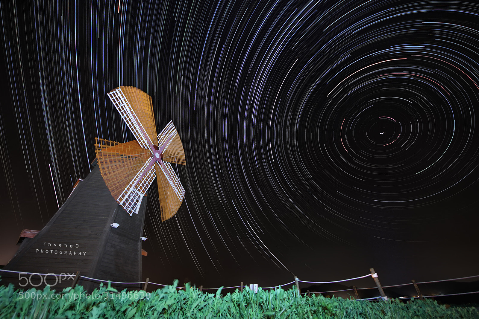 Photograph Spin Stars with windmill by chan-wook Kim on 500px