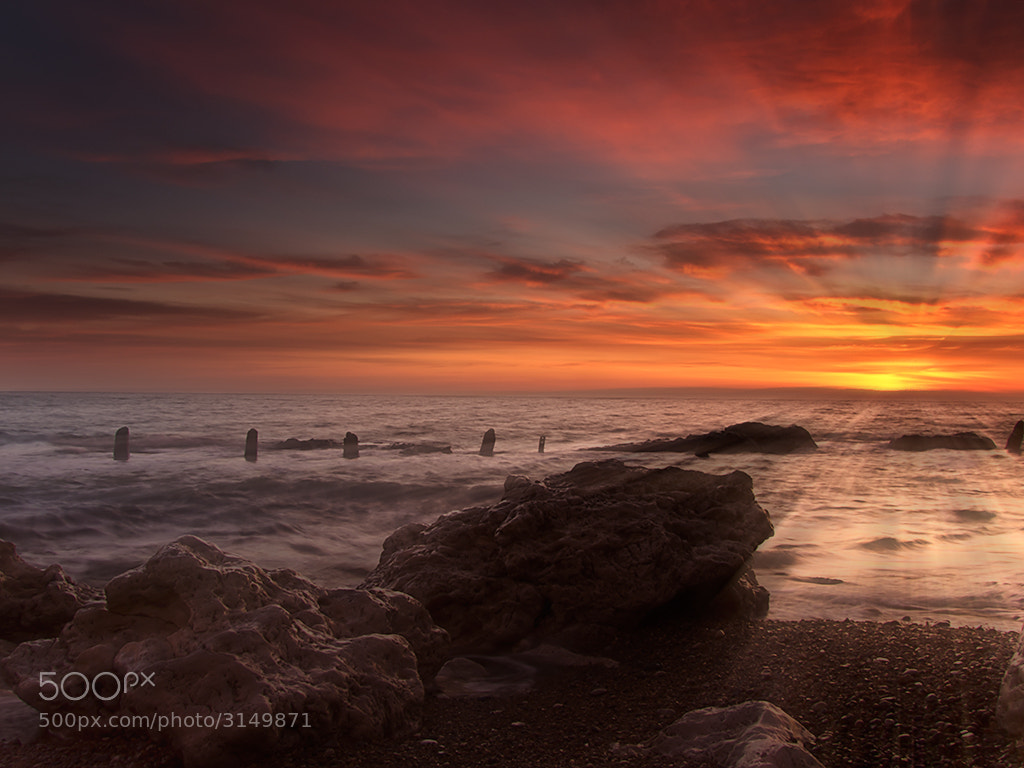 Photograph Seaham Sunrise by Dale Hill on 500px