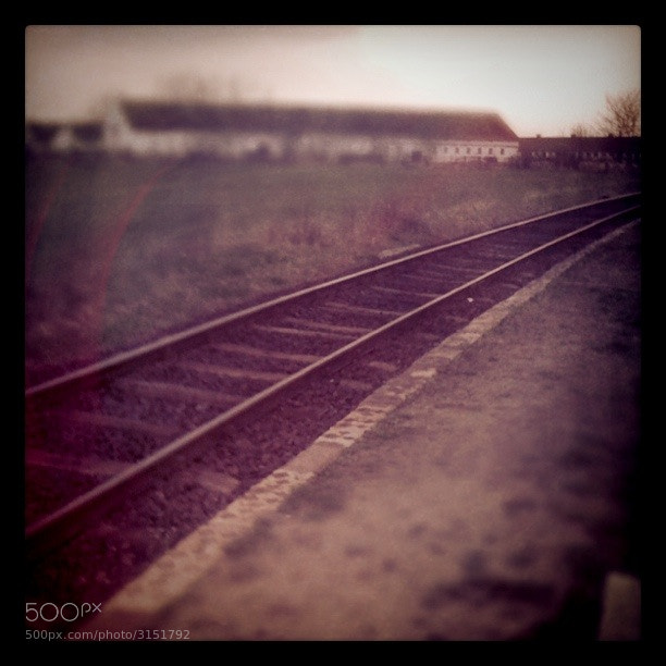 Photograph Train Tracks by Csaba Szabo on 500px