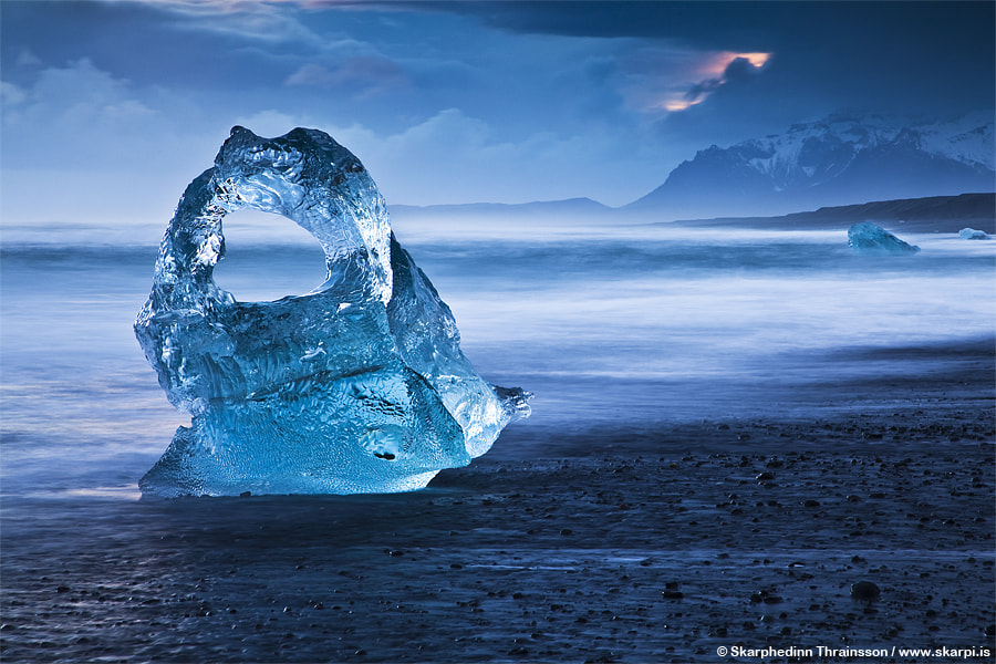 Photograph Ice Sculpture - South Iceland by Skarpi Thrainsson on 500px