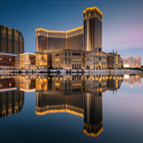 Reflection of venetian macau