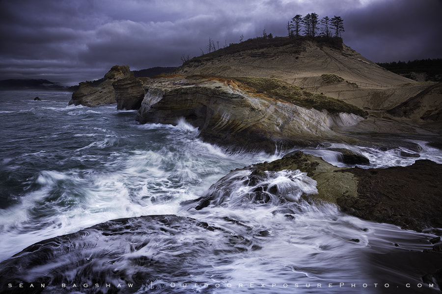 Photograph Oceans Stark by Sean Bagshaw on 500px