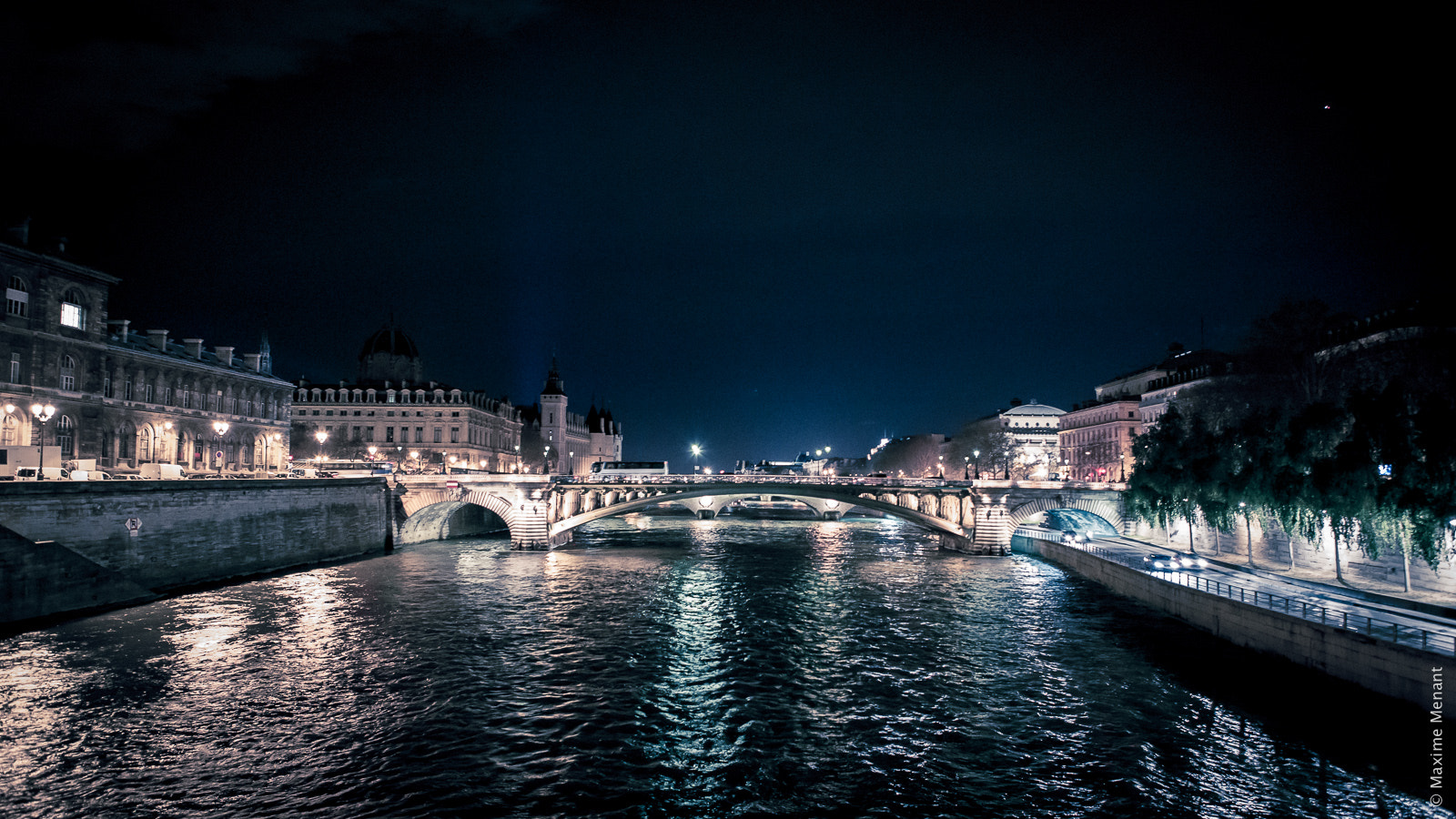Photograph Paris by Night by Maxime Menant on 500px