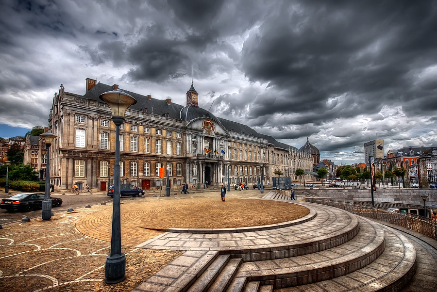 Photograph Place St. Lambert - Liège - Belgium by Iván Maigua on 500px