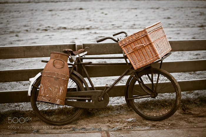 Photograph old bicycle by dvoevnore . on 500px