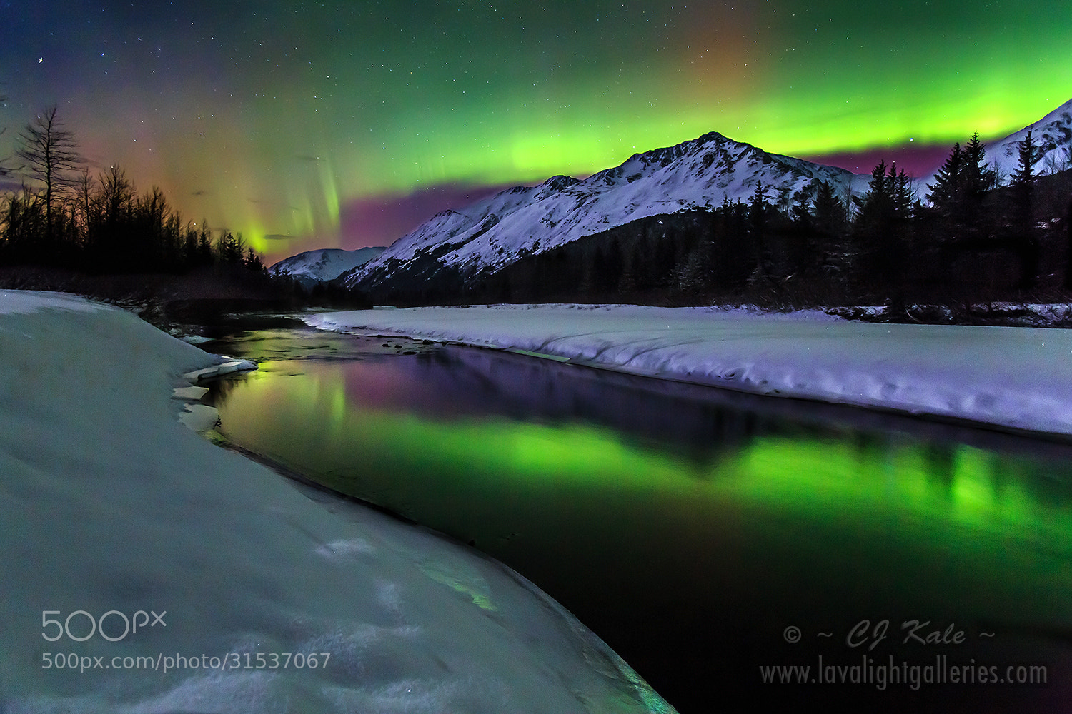 Photograph Aurora reflections by Cj Kale on 500px