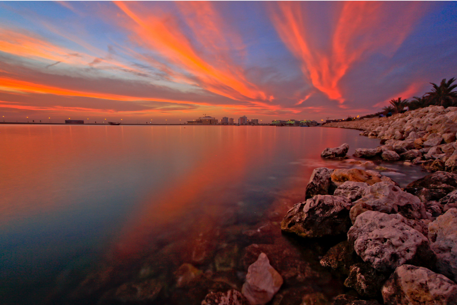Photograph fire in the sky by Helminadia Ranford on 500px
