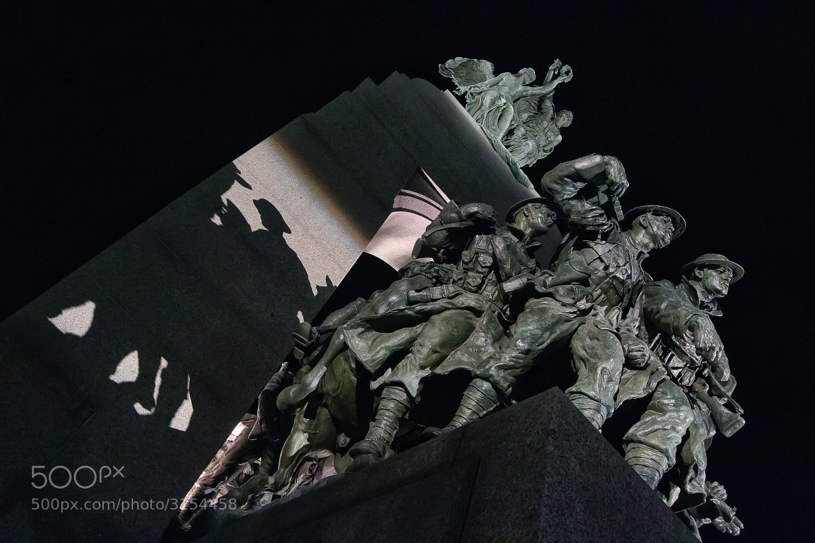 Photograph Shadows of Unknown Soldiers by Vincent Falardeau on 500px
