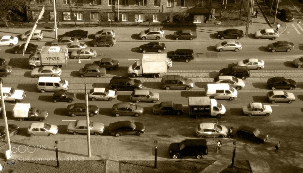 Photograph Автомобили, автомобили, буквально все заполонили... by Dorian A on 500px