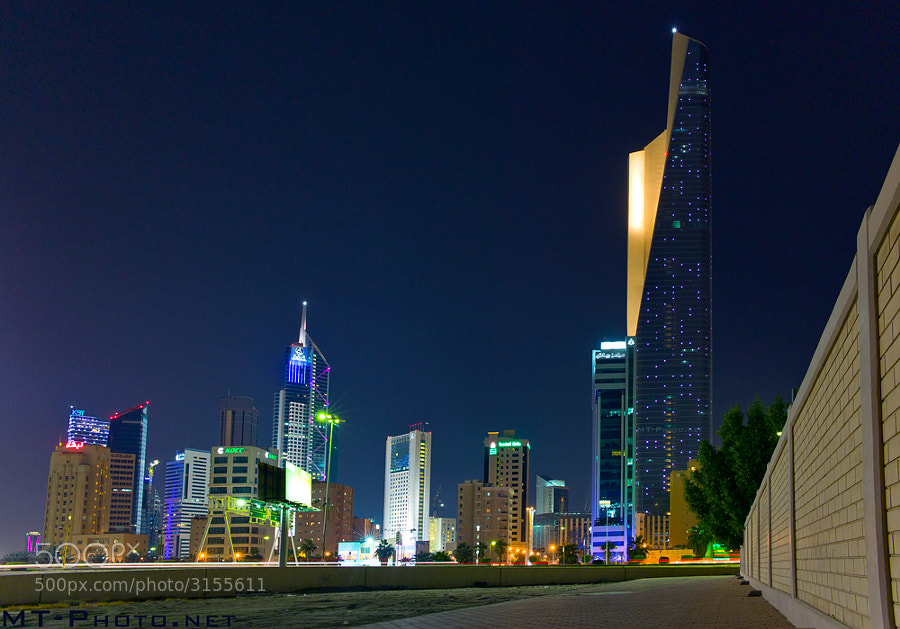 The Al-Hamra Tower Is The Tallest Building in Kuwait