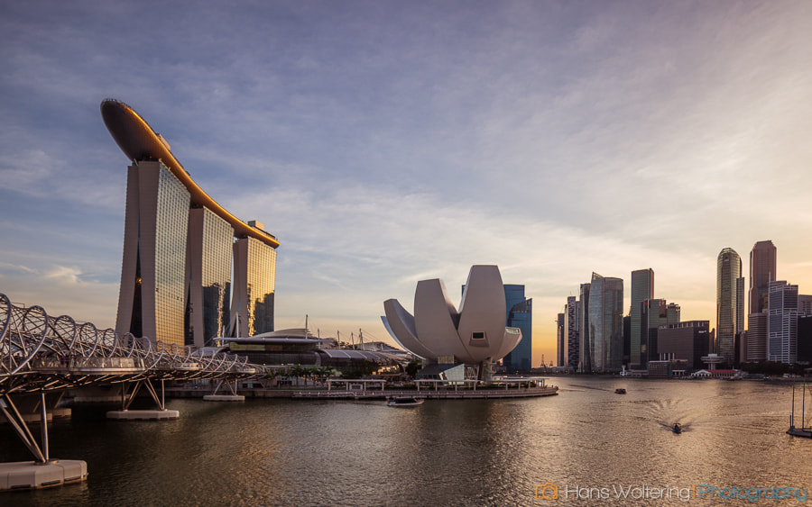 Photograph Marina Bay, Singapore by Hans Woltering on 500px