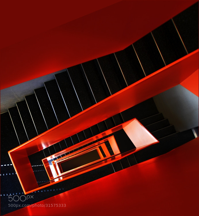 Photograph StairWork Orange II by KPK . on 500px