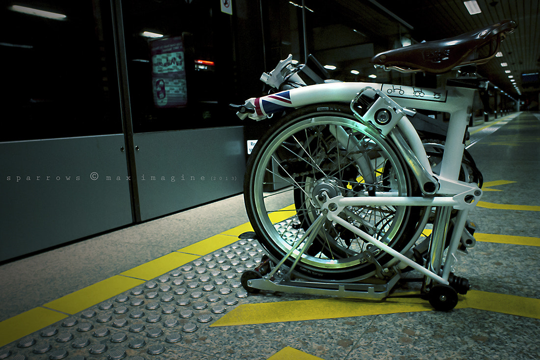 Photograph My Brompton - Last Train by M a x Ooi on 500px