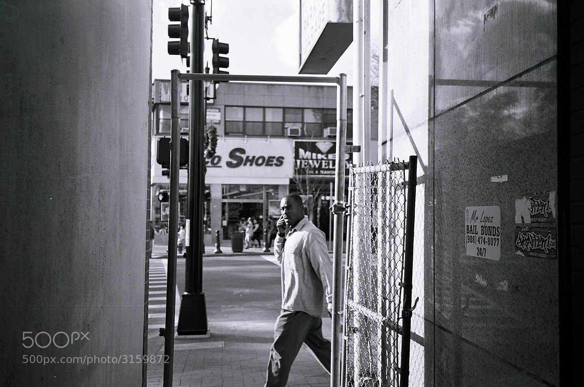 """Photograph """"Olympus XA Test Shot (The Alley)"""" by B.C.  Lorio on 500px"""