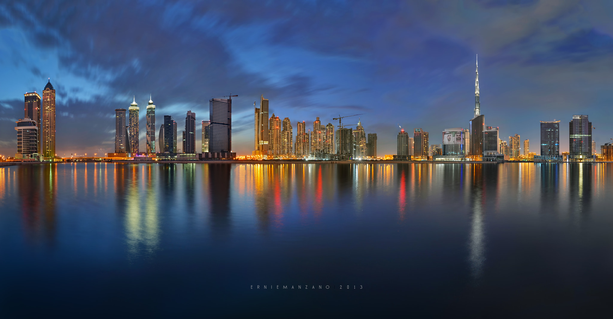Photograph Business Bay in Panorama by Ernie Manzano on 500px