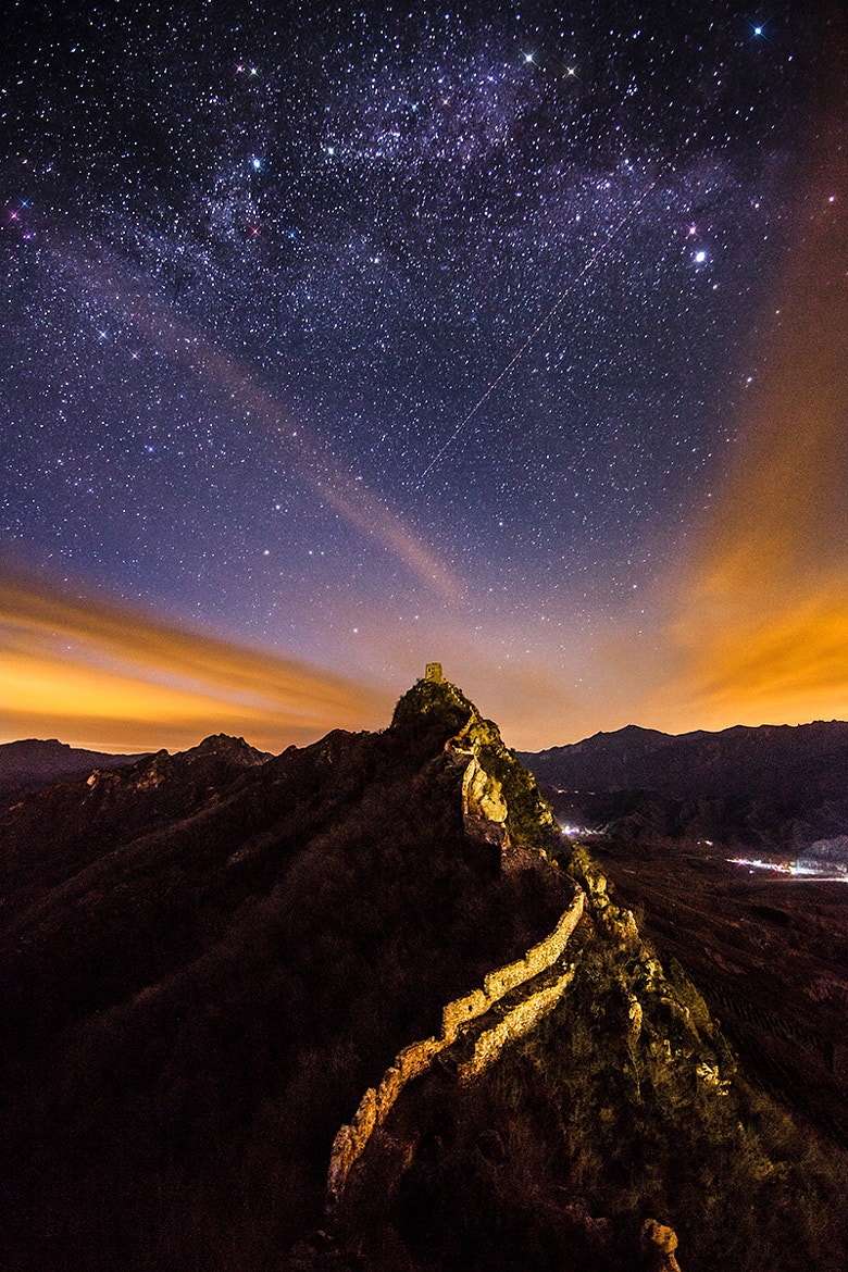 Photograph Milky Way above Heavenly Bridge by Isaac Si on 500px