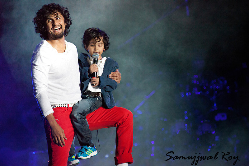 Sonu Nigam and Navin Nigam