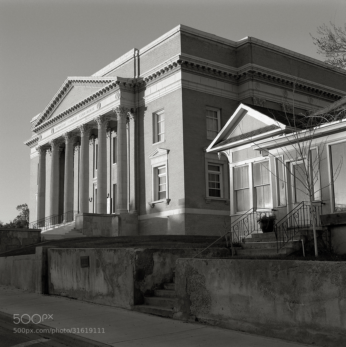 Photograph Courthouse and Home, early Morning, Winnemucca, Nevada by Austin Granger on 500px