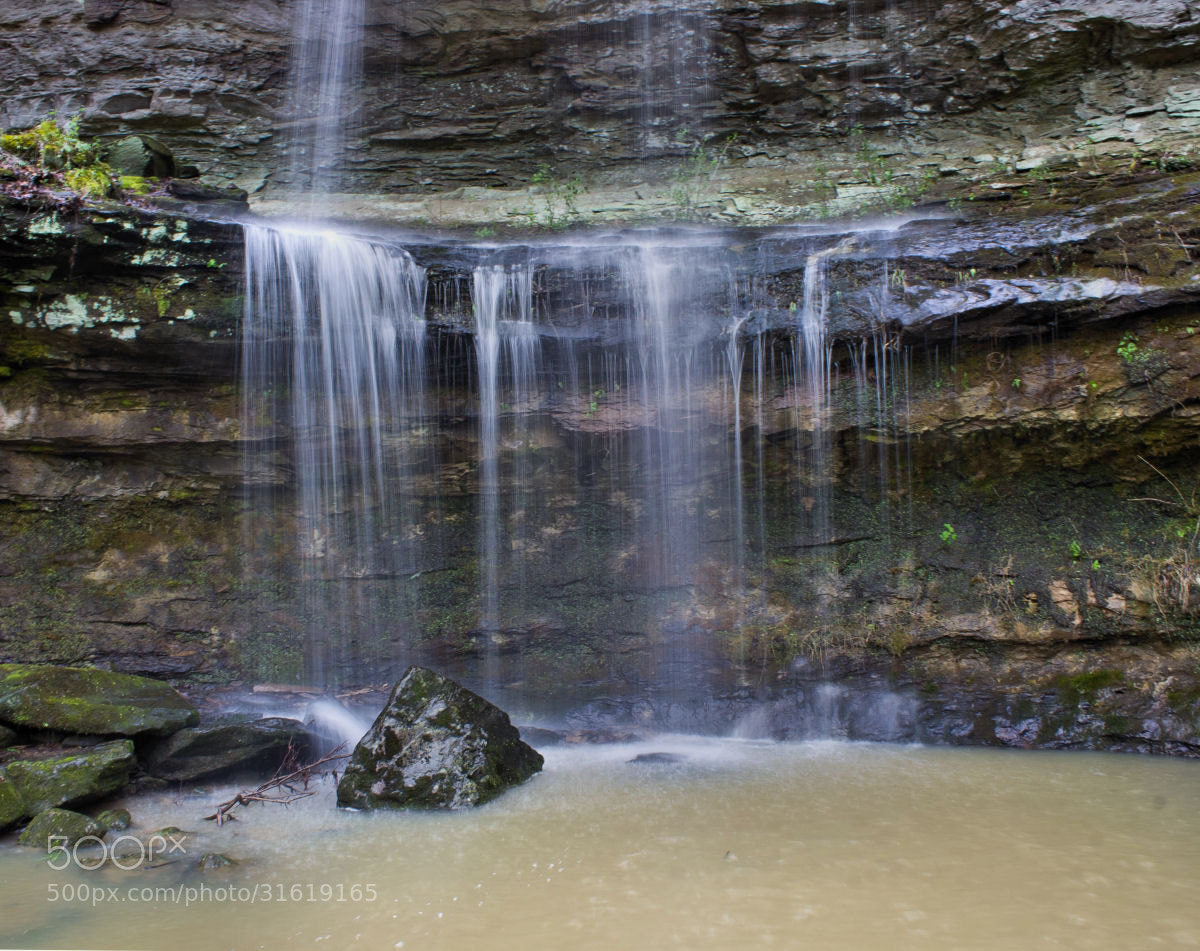 Photograph Rocky Bluff Waterfall by Kelly Phillips on 500px