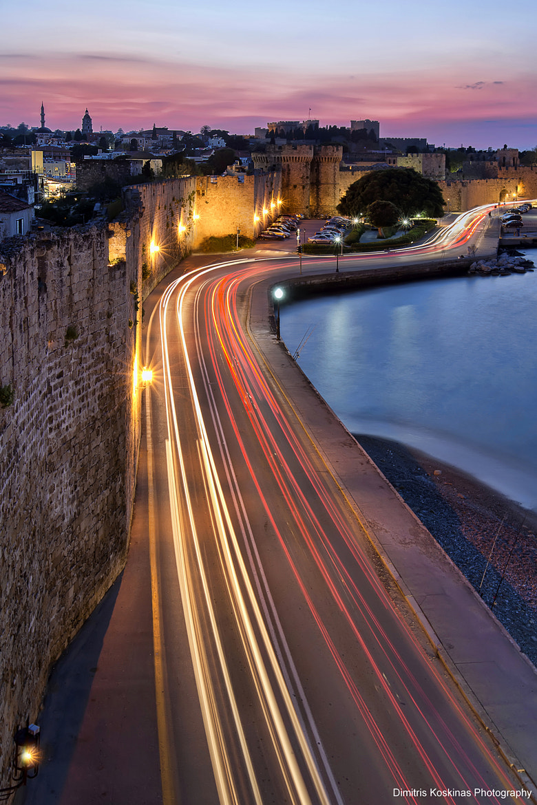 Photograph Rhodes old town at night by Dimitris Koskinas on 500px