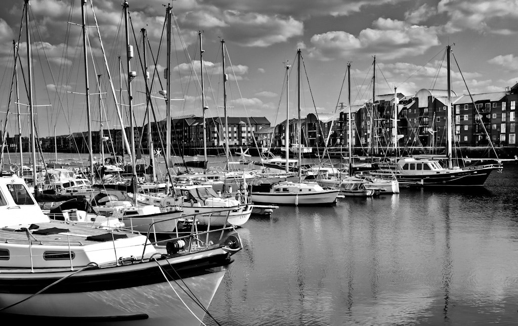 Photograph Preston Docks by Daniel Talbot on 500px