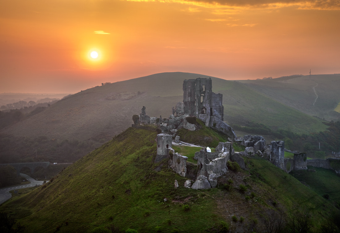 Photograph Corfe Castle by Stephen Emerson on 500px