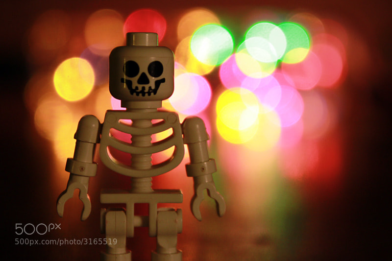 Photograph Skeleton Bokeh by Aaron Mello on 500px