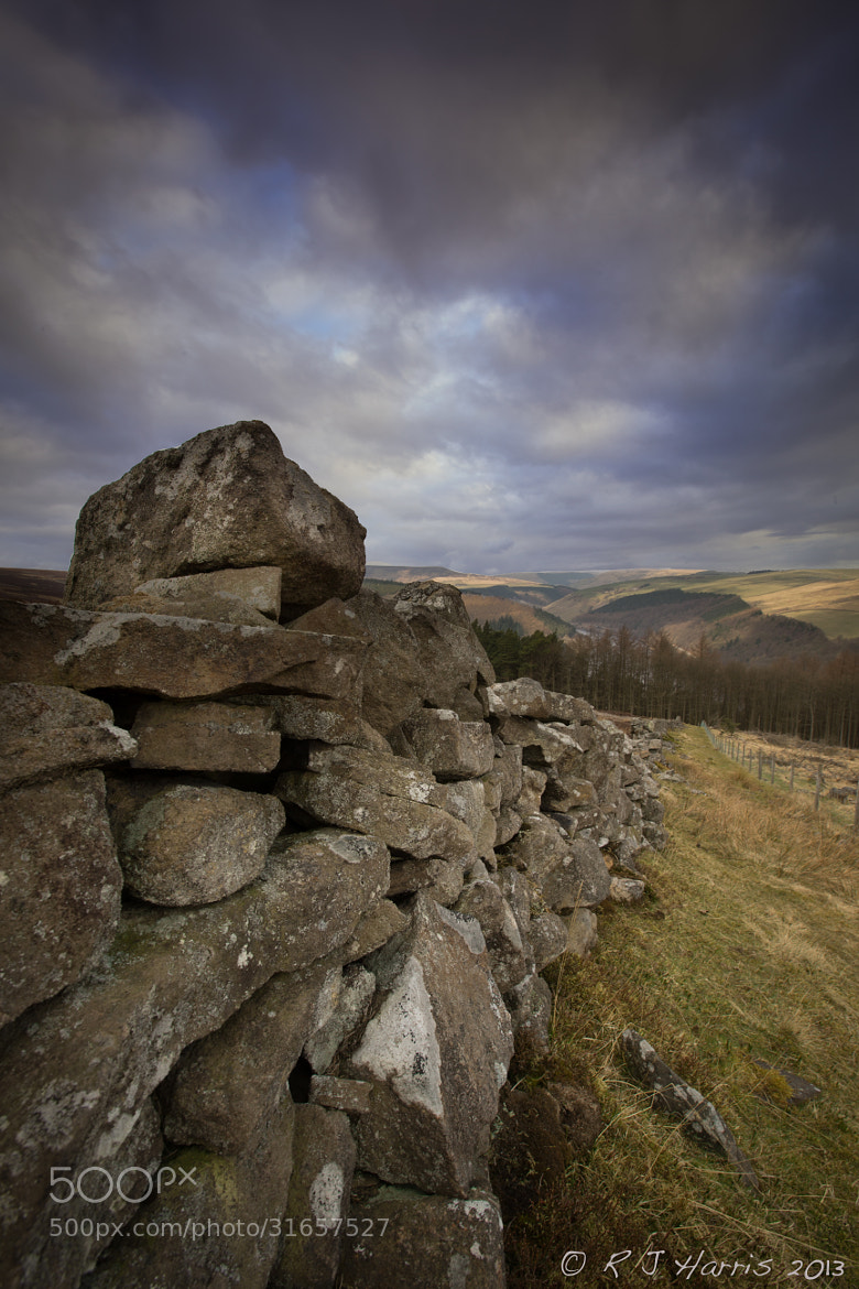 Photograph Looking Down The Wall by Rob Harris on 500px