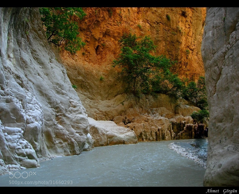 Photograph SAKLIKENT CANYON... by aahmetgorgun on 500px