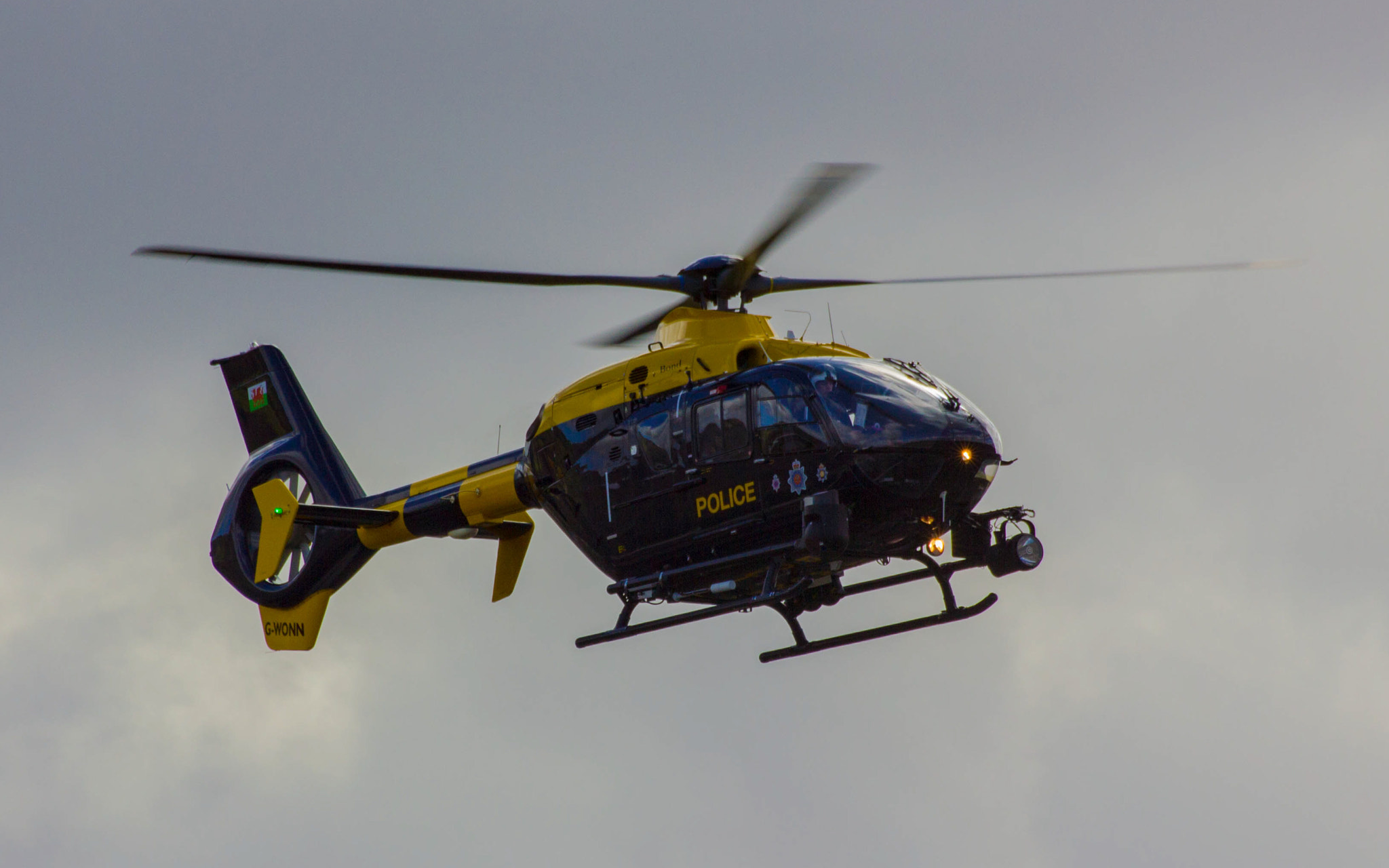 Photograph South Wales Police Helicopter by Jacob Harris on 500px