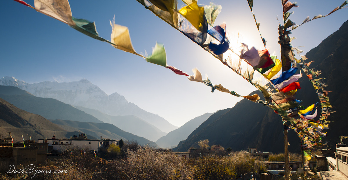 Photograph High in the Kingdom of Lo - Prayer Flags by Doss@yours Photography on 500px