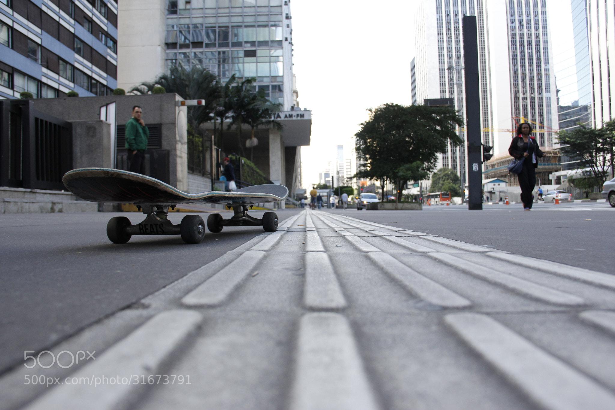 Photograph Skate in Paulista Av. by Daniel Antunes on 500px