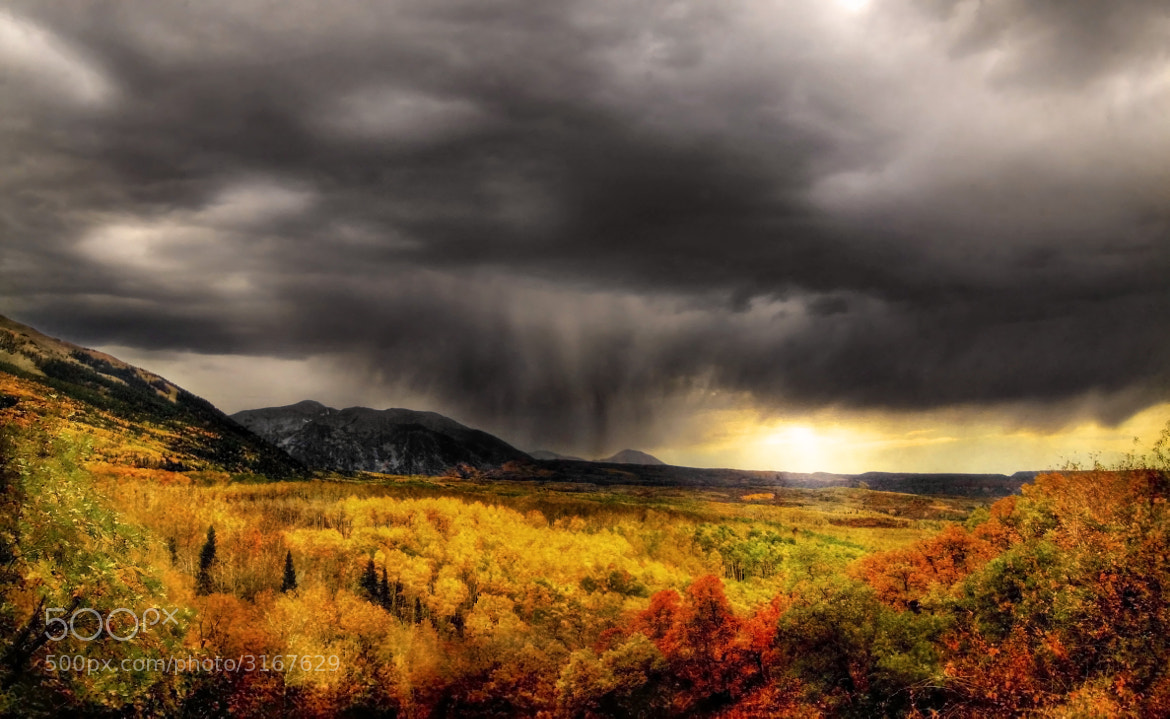 Photograph Impending Storm by Ron  Azevedo on 500px