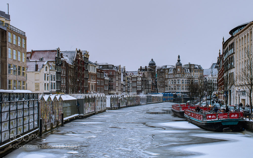 Photograph Icy Amstel by Dynamo Fotos on 500px