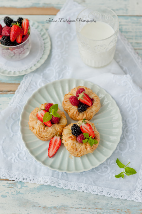 Photograph Buns with berries by Galina Kochergina on 500px