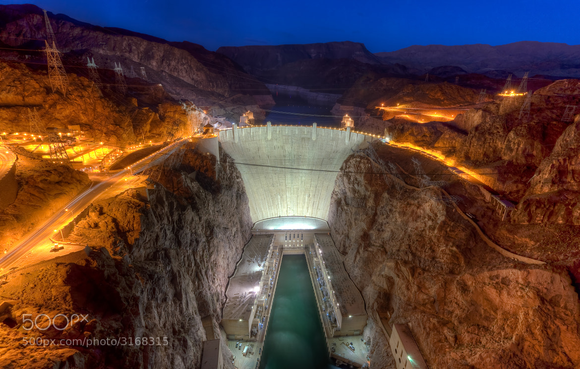 Photograph The Hoover Dam by Stanton Champion on 500px
