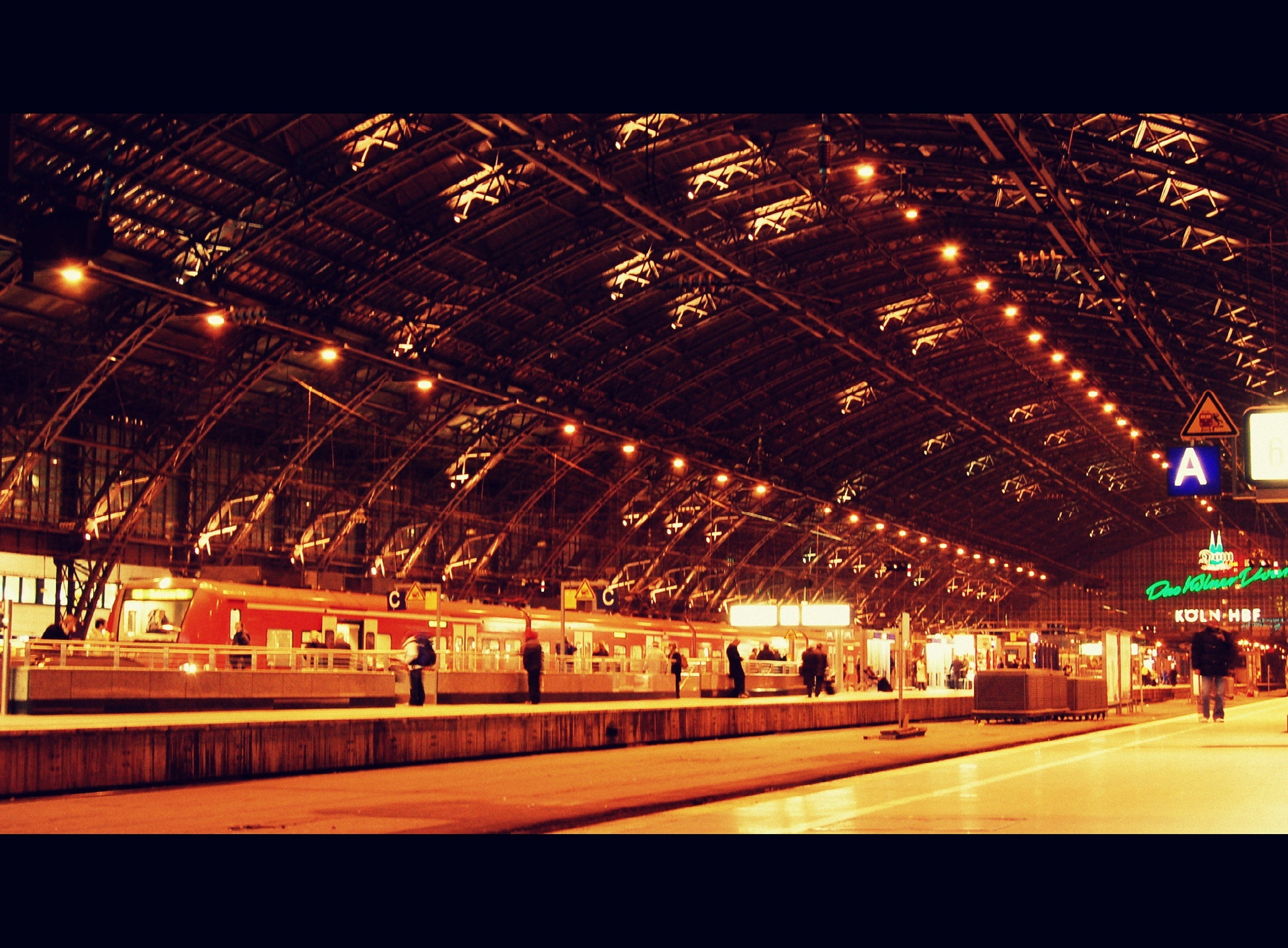 Photograph Cologne HauptBahnHoff by Theodosis Christopoulos on 500px