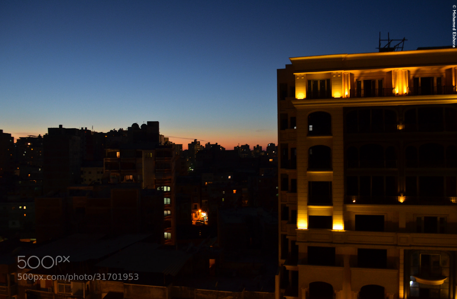 Photograph late sun set by Mohamed Elshora on 500px