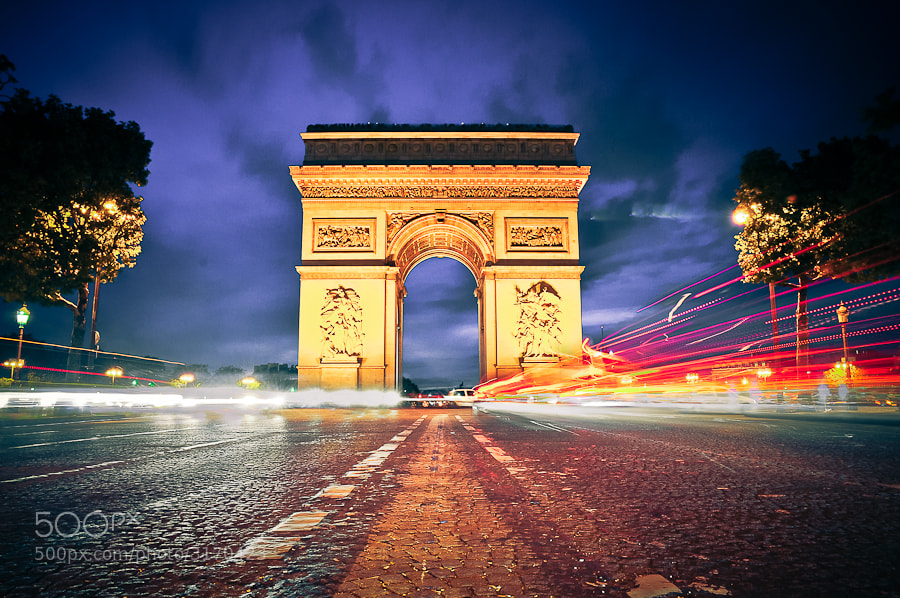 Photograph Paris, Arc de triomphe by Markus Englbrecht on 500px