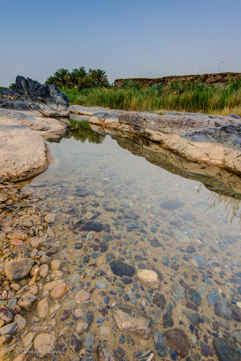 Photograph Water stream after rain (Wadi AlKhoudh) - Muscat by Ibrahim AlWaili on 500px