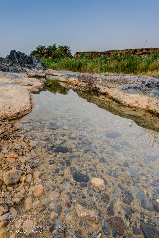 Photograph Water stream after rain (Wadi AlKhoudh) - Muscat by Ibrahim AlWaili on 500px