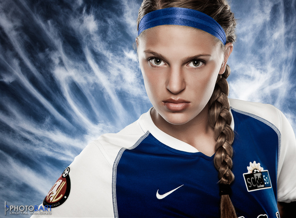 Photograph Female Soccer Player by Paul Bartell on 500px