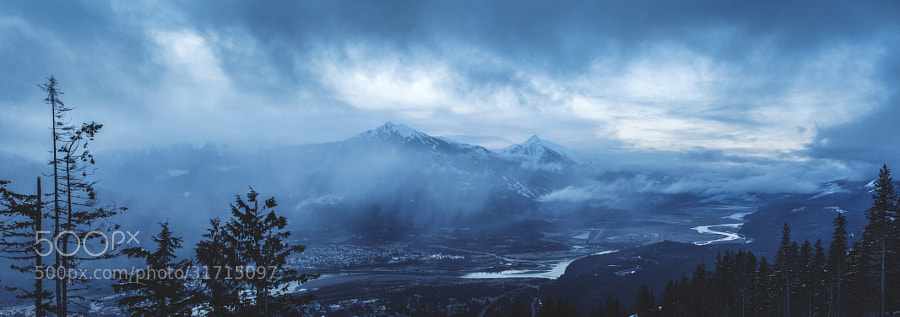 Revelstoke BC Panoramic by Richard Gottardo (RichardGottardo)) on 500px.com