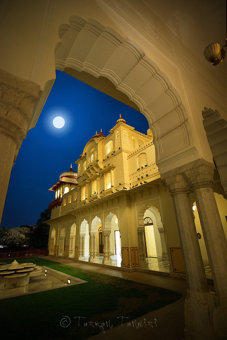 Photograph Moon Light at Rambagh Palace by Tazran Tanmizi on 500px