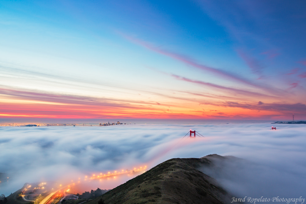 Photograph Fire on Fog by jared ropelato on 500px
