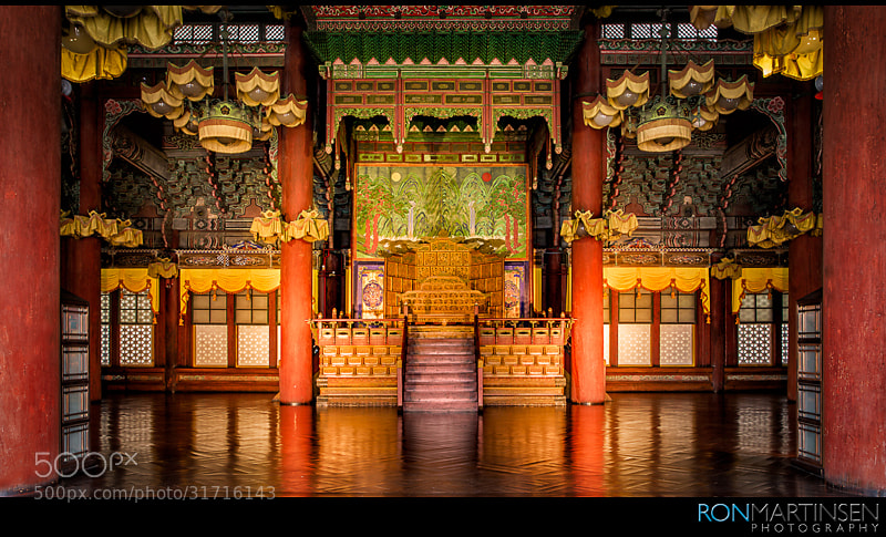 Throne Hall of Gyeongbokgung Palace by Ron Martinsen (ronmart)) on 500px.com