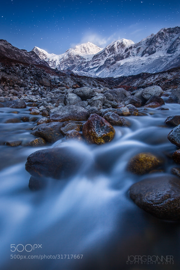 Photograph Himalayan Twilight by Joerg Bonner on 500px