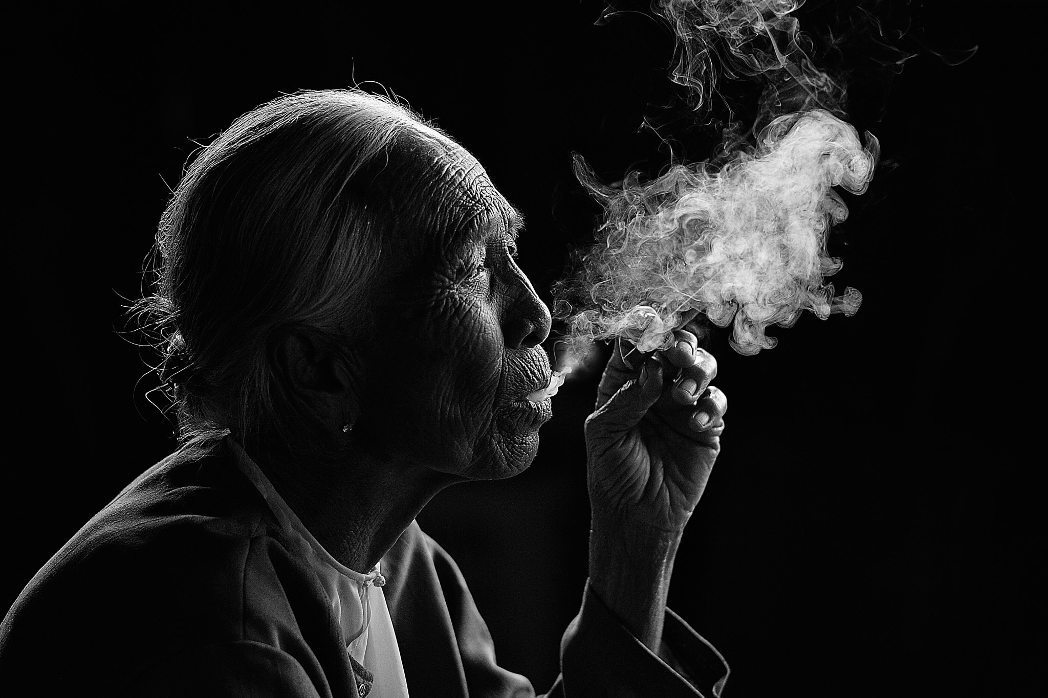 Photograph Smokey B & W by Vichaya Pop on 500px