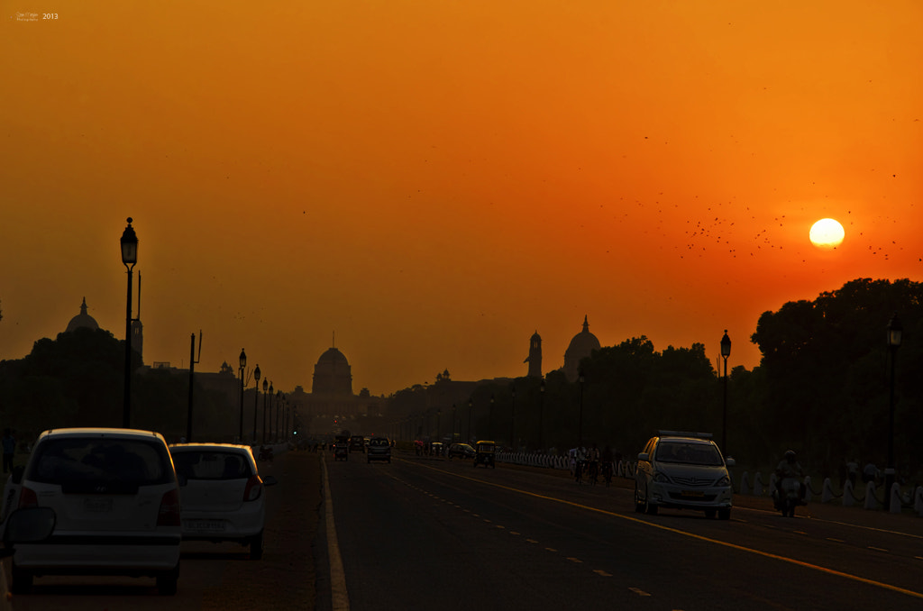 Photograph Rashtrapathi Bhavan Sunset! by Ram Natrajhen on 500px