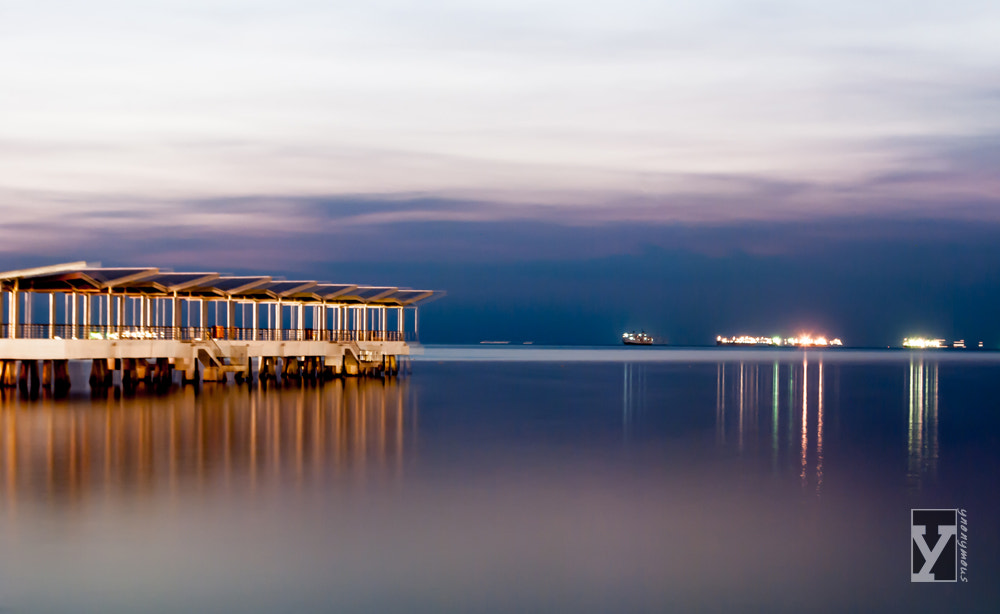 Photograph Night Approaches at the Jetty by Ynon Francisco on 500px